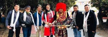 Săn hoa đào Tây Tạng